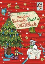 Mein dicker Weihnachts-Bastel- und Rätselblock