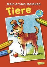 Mein erstes Malbuch: Tiere: Malen ab 2 Jahren