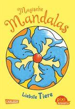 Pixi kreativ 60: Magische Mandalas: Liebste Tiere
