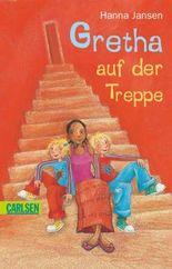 Gretha auf der Treppe