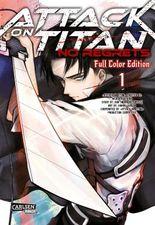 Attack On Titan - No Regrets Full Colour Edition 1