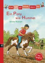 Minibücher für die Schultüte - Erst ich ein Stück, dann du - Ein Pony wie Hummel