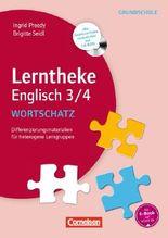 Lerntheke Englisch 3/4, Wortschatz, m. CD-ROM