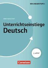 Unterrichtseinstiege - Deutsch / Buch mit Kopiervorlagen über Webcode