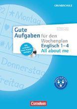 Gute Aufgaben für den Wochenplan - Englisch / All about me 1-4