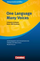 Interpretationshilfen / Ab 11. Schuljahr - One Language, Many Voices: Interpretationshilfe