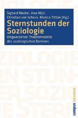 Sternstunden der Soziologie