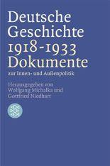 Deutsche Geschichte 1918-1933