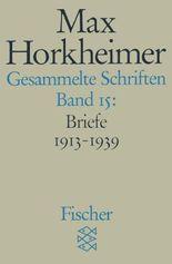 Max Horkheimer. Gesammelte Schriften - Taschenbuch-Ausgabe