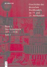 Geschichte Des Deutschen Buchhandels Im 19 Und 20 Jahrhundert