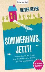 Sommerhaus jetzt!: 13 Freunde und der Traum vom Wochenende im Grünen. - Ein Überlebensbericht