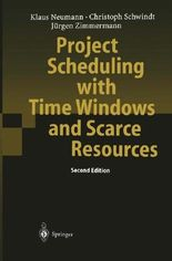 Project Scheduling With Time Windows and Scarce Resources