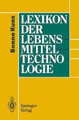 Lexikon Der Lebensmitteltechnologie