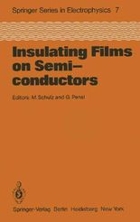 Insulating Films on Semiconductors