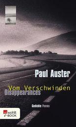 Disappearances/Vom Verschwinden: Gedichte/Poems. Zweisprachige Ausgabe