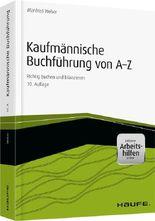 Kaufmännische Buchführung von A-Z - inkl. eBook und Arbeitshilfen online