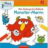 Mein Kindergarten-Malblock: Monster-Alarm