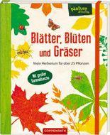 Blätter, Blüten und Gräser