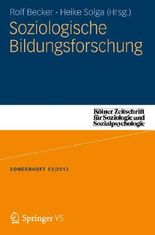 Soziologische Bildungsforschung