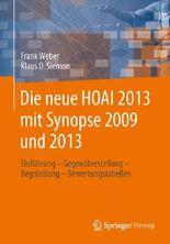 Die neue HOAI 2013 mit Synopse 2009/2013