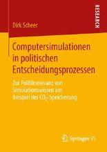 Computersimulationen in politischen Entscheidungsprozessen