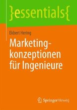 Marketingkonzeptionen für Ingenieure