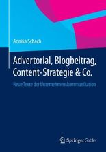 Advertorial, Blogbeitrag, Content-Strategie&Co.
