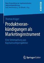 Produktvorankündigungen als Marketinginstrument