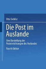 Die Post im Auslande