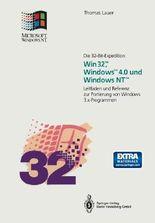 Die 32-Bit-Expedition: Win32™, Windows™4.0 und Windows NT™