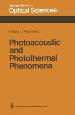 Photoacoustic and Photothermal Phenomena