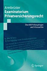 Examinatorium Privatversicherungsrecht