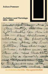 Aufsätze und Vorträge 1931-1980