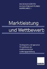 Marktleistung Und Wettbewerb