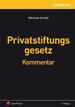 Privatstiftungsgesetz
