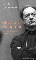 Musik als Klangrede