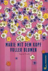 Marie mit dem Kopf voller Blumen