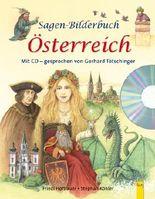 Sagen-Bilderbuch Österreich mit CD