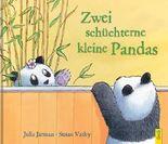 Zwei schüchterne kleine Pandas