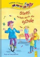 Steffi wirbelt durch die Schule