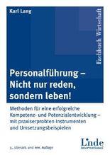 Personalführung - Nicht nur reden, sondern leben!