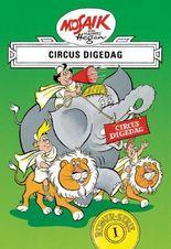 Mosaik von Hannes Hegen: Circus Digedag