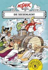 Mosaik von Hannes Hegen: Die Seeschlacht