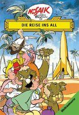 Mosaik von Hannes Hegen: Die Reise ins All