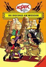 Mosaik von Hannes Hegen: Die Digedags am Missouri