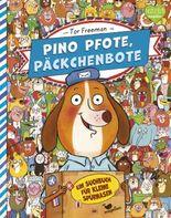 Pino Pfote, Päckchenbote – Ein Suchbuch für kleine Spürnasen