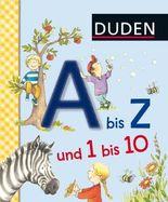 DUDEN Pappbilderbücher 36+ Monate / Duden A bis Z und 1 bis 10