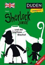 Duden Leseprofi – Sherlock Junior und der kopflose Bischof, Erstes Englisch