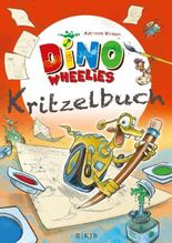 Dino Wheelies Kritzelbuch