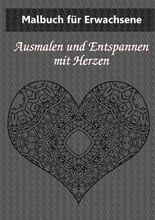 Malbuch für Erwachsene: Herzen